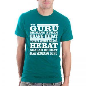 desain kaos guru